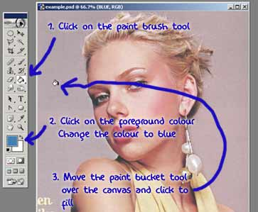Fill Layer in Photoshop