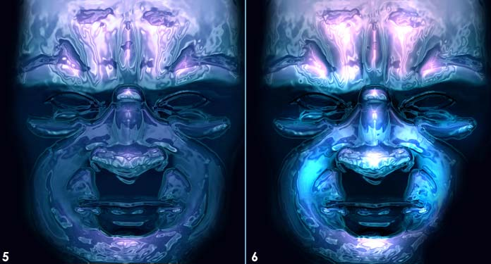 Ice Mask Photoshop Tutorial 04